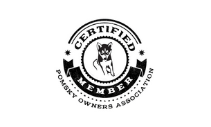 Pomsky Owners Association Membership Badge